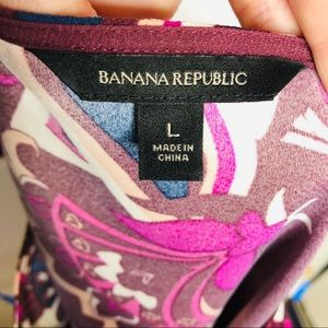 Banana Republic Tops - Banana Republic | Paisley Bell Sleeve Top